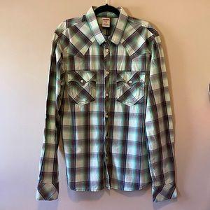 True Religion, NWOT Men's Western Shirt, Button-Up